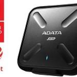 ADATA TECHNO ASD700-1TU31-CBK 1TB SSD SD700 WATER, DUST AND SHOCK PROOF BLACK