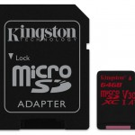 KINGSTON SDCR/64GB 64GB MICROSD CANVASREACT 100R/80W U3 UHS-I V30 A1