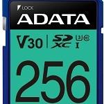 ADATA TECHNO ASDX256GUI3V30S-R 256GB ADATA SDXC UHS-I U3 V30S (R100MB/S)