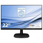 PHILIPS 223V7QSB/00 21,5 IPS 1920X1080 16 9 250CD/M2 DVI/VGA 8MS NERO