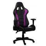 COOLER MASTE CMI-GCR1-P CALIBER R1 GAMING CHAIR BLACK AND PURPLE