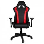 COOLER MASTE CMI-GCR1-R CALIBER R1 GAMING CHAIR BLACK AND RED