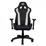 COOLER MASTE CMI-GCR1-W CALIBER R1 GAMING CHAIR BLACK AND WHITE