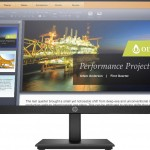 HP INC. 5QG34AT#ABB HP P224 MONITOR 21.5 1920X1080