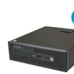 HP REFURBISH 311374041 HP REFURBISH 800G1 SFF I5-4570 8G 480SD DVDRW W10P