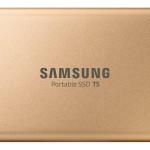 SAMSUNG MU-PA1T0G/EU SSD PORTATILE T5 DA 1 TB, USCITA USB 3.1 RESEGOLD