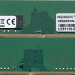 KINGSTON KSM24ES8/8ME 8GB 2400MHZ DDR4 ECC CL17 DIMM 1RX8 SERVER