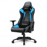 SHARKOON SHARK ELBRUS 3 BLACK/ SHARK ELBRUS 3 GAMING SEAT BK/BU
