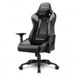 SHARKOON SHARK ELBRUS 3 BLACK/GRAY SHARK ELBRUS 3 GAMING SEAT BK/GY