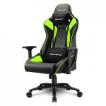 SHARKOON SHARK ELBRUS 3 BLACK/GREEN SHARK ELBRUS 3 GAMING SEAT BK/GN