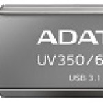 ADATA TECHNO AUV350-64G-RBK 64GB UV350 USB 3.1