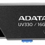 ADATA TECHNO AUV330-16G-RBK 16GB UV330 USB 3.1 BLACK