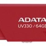 ADATA TECHNO AUV330-64G-RRD 64GB UV330 USB 3.1 RED