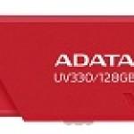 ADATA TECHNO AUV330-128G-RRD 128GB UV330 USB 3.1 RED