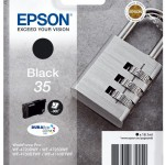 EPSON C13T35814010 SINGLEPACK BLACK 35 DURABRITE ULTRA INK