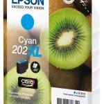 EPSON C13T02H24010 CARTUCCIA CIANO 202XL KIWI