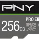 NVIDIA BY PN P-SDU256V31100PRO-GE 256GB PNY MICROSD PRO ELITE 100-60MB/S U3 A1 V30