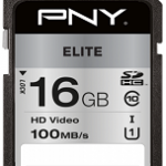 NVIDIA BY PN P-SD16GU1100EL-GE 16GB PNY SD ELITE CLASS 10 UHS-I U1 100MB/S