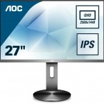 AOC Q2790PQU/BT 27  16 9 4K 350CD/M2 IPS VGA HDMI DISPLAYPORT