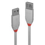 LINDY LINDY36711 PROLUNGA USB 2.0 TIPO A ANTHRA LINE, 0.5M