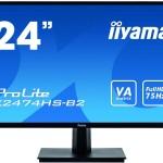IIYAMA X2474HS-B2 24  1920X1080 VGA, DISPLAYPORT, HDMI, 4MS