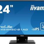 IIYAMA T2454MSC-B1AG 24  PCAP 10P TOUCH 1920 X 1080, IPS-PANEL VGA HDMI