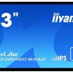 IIYAMA TF4338MSC-B2AG 43 TOUCH SCREEN, 1920X1080 2XHDMI,DP,DVI,VGA