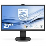 PHILIPS 271B8QJKEB/00 27 -1920X1080-IPS-VGA-DVI/D-DP-HDMI-WEBCAM-MULTIME