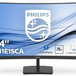 PHILIPS 241E1SCA/00 23,6  GAMING MONITOR CURVO  75HZ, VA LED