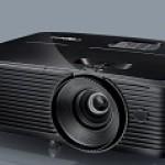 OPTOMA DX318E XGA/3600L/VGAIN/VGAOUT/HDMI -1.94 1 - 2.16 1