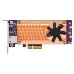 QNAP QM2-2P10G1TA QM2 SERIES, 2 X PCIE 2280 M.2 SSD SLOTS, PCIE GEN2