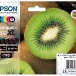 EPSON C13T02G74010 MULTIPACK 5-COLOURS 202XL CLARIA PREMIUM INK