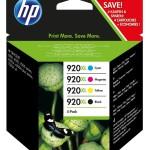 HP INC. C2N92AE HP 920XL INK CARTRIDGE COMBO PACK