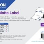 EPSON POS C33S045549 ROTOLO DI ETICHETTE PE MATTE 102 X152MM-185 ETICH.