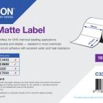 EPSON POS C33S045551 PE MATTE LABEL-DIE-CUT ROLL 76MM X 127MM 220