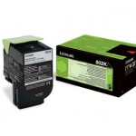 LEXMARK 80C20K0 TONER LEXMARK NERO PER CX310 CX410 CX510 DA 1K