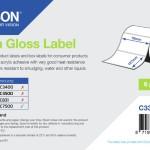 EPSON POS C33S045721 ROTOLO DI ET,HG-DIE CUT ROLL:76MMX127MM,LABEL 960