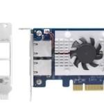 QNAP QXG-10G2T-107 DUAL-PORT BASET 10GBE NETWORK EXPANSION CARD