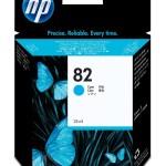 HP INC. C4911A HP NO 82 CYAN INK CARTRIDGE