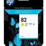 HP INC. C4913A HP NO 82 YELLOW INK CARTRIDGE