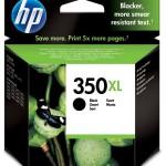 HP INC. CB336EE#ABE HP 350XL BLACK INKJET PRINT CARTRIDGE