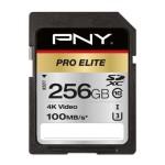 NVIDIA BY PN P-SD256U3100PRO-GE 256GB PNY SD PRO ELITE CLASS10 UHS-I U3 100-90MB/S