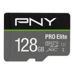 NVIDIA BY PN P-SDU128V31100PRO-GE 128GB PNY MICROSD ELITE PRO 100-60MB/S  U3 A1 V30