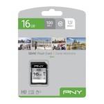 NVIDIA BY PN P-SD16GU1100EL-GE 16GB PNY SD ELITE CLASS 10 UHS-I U1 100MB/S