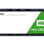 WESTERN DIGI WDS120G2G0B 120GB SSD WD GREEN M2 SATA3 3DNAND