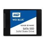 WESTERN DIGI WDS500G2B0A 500GB SSD WD BLUE 2.5 SATA3 3DNAND