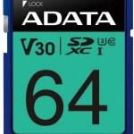 ADATA TECHNO ASDX64GUI3V30S-R 64GB ADATA SDXC UHS-I U3 V30S (R100MB/S)