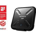 ADATA TECHNO ASD700-512GU31-CBK 512GB SSD SD700 WATER, DUST AND SHOCK PROOF BLACK