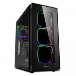 SHARKOON TG6 RGB ATX PC CASE