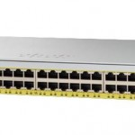 CISCO WS-C2960L-48PS-LL CATALYST 2960L 48 PORT GIGE WITH POE 4X1G SFP LAN